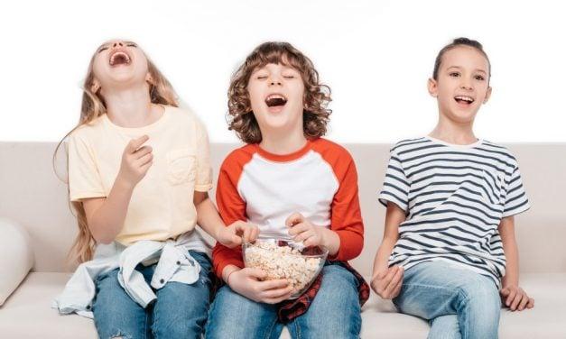 Glæd dine børn med gode film